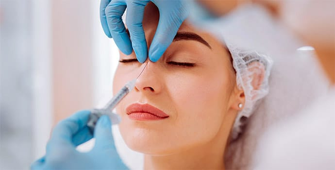 rhinoplastie non-chirurgicale injections AH