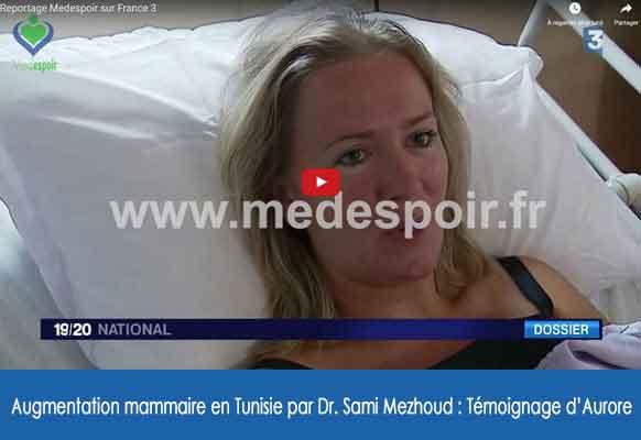 reportage France3 seins tunisie